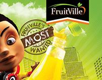 FRUITVILLE FRUIT DRINK BILLBOARDS