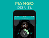Mango iOS8 PSD UI Kit