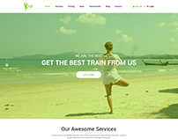 Yogy - Bootstrap Based Responsive Onepage Template