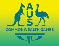 Dave Foster for Australia in the Comm Games 2018