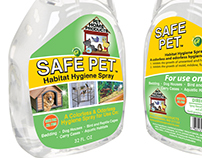 Label design for all purpose, eco friendly pet cleaner.