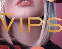 VIPS Cosméticos - Logotipo e Identidade Visual 2017