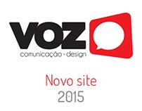 Web Site: Voz Comunicação