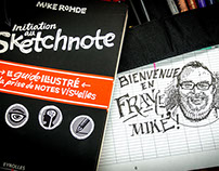 Contributions to the sketchnote books of Mike Rohde