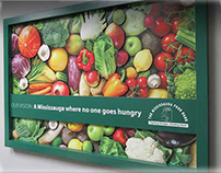 Food Bank 3D Wall Art