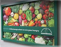 Food Bank 3D Wall Art