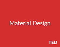 TED x Material Design
