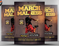 March Madness Flyer Template v2