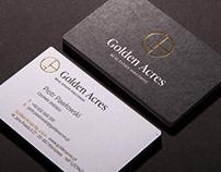 Golden Acres branding