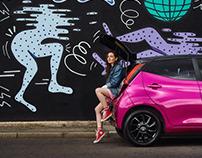 Toyota Aygo - Retouching