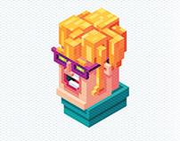 Isometric Character Illustration in Adobe Illustrator