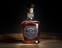 Jack Daniel's Single Barrel - CGi