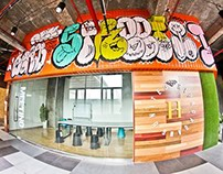hiphop gang dance club interior design -shanghai