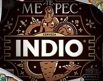 Cerveza Indio / Barrios Metepec