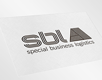 """SBL"" logistic logo design"