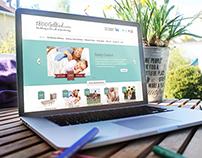 Ecommerce Mattress website design