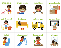 Visual Schedule for Kids
