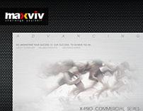 MAXVIV 健身器材型錄設計