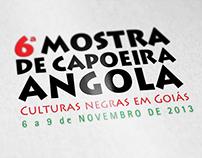 6ª Mostra de Capoeira Angola - Identidade Visual