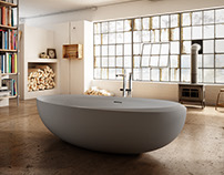 Industrial bathroom - Teuco