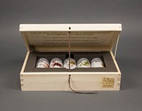 Präsentationsbox aus Holz