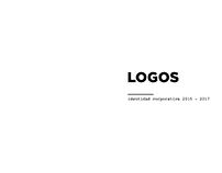LOGOS identidad corporativa 2015 - 2017
