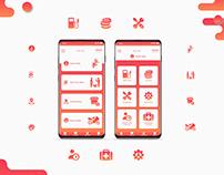 Bikers Heart Mobile App UI UX Design-1