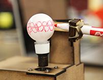 Ping Pong Ball Drawing Machine
