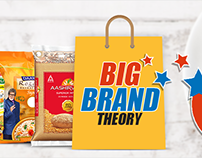 Big Brand Theory Campaign for Grocermax.com