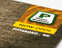 Pioneer Machinery Direct Mail Campaign