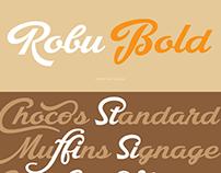 NEW FONT: Robu Bold