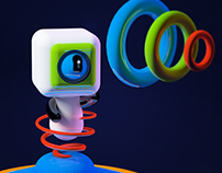 From Another World!   Cinema4D