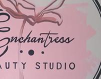 Mural Logo Enchantress Beauty Studio