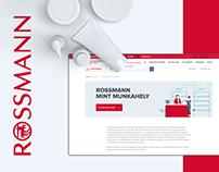 Rossmann – Website redesign
