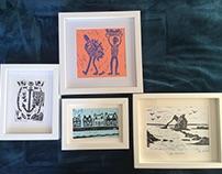 Nautical printmaking