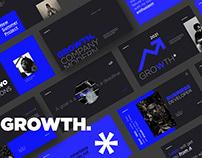 Growth Multipurpose Template