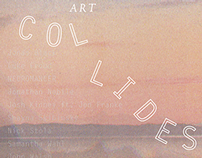 Art Collides Event Poster