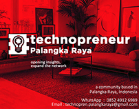 Branding Identity Technopreneur Palangka Raya