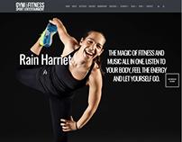 Coach Page - Gym WordPress Theme