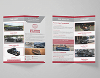 Flyer Design | Admirals Travel & Transportation