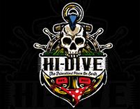 Rock n Roll island bar logo