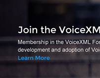 VoiceXML Forum Website