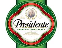 PRESIDENTE BEER BRAND REFRESHMENT