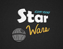 Star Wars Cloth Toons
