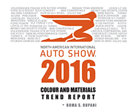 TREND REPORT | NAIAS 2016
