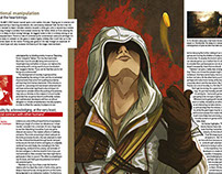 Illustrations for GamesTM Magazine