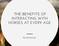 The Benefits of Interacting with Horses