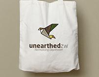 UnearthedZw : Brand Identity Design.