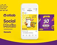 Otlob Social Media - Generic