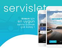 Servislet Projesi Mobil Arayüz Tasarımı